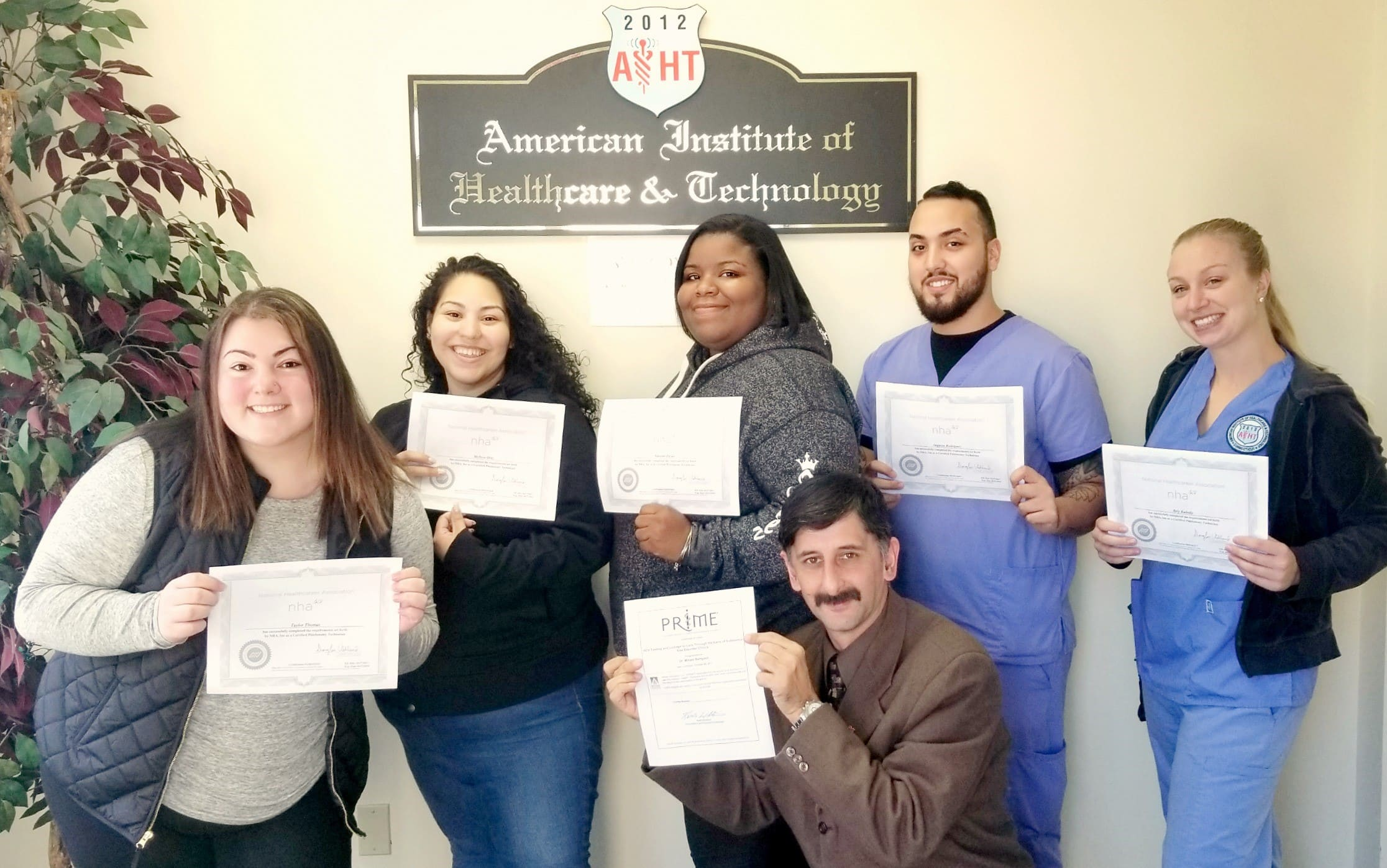 Healthcare technology and medical assistant school in ct aiht aiht students earn national phlebotomy technician certification 1betcityfo Gallery