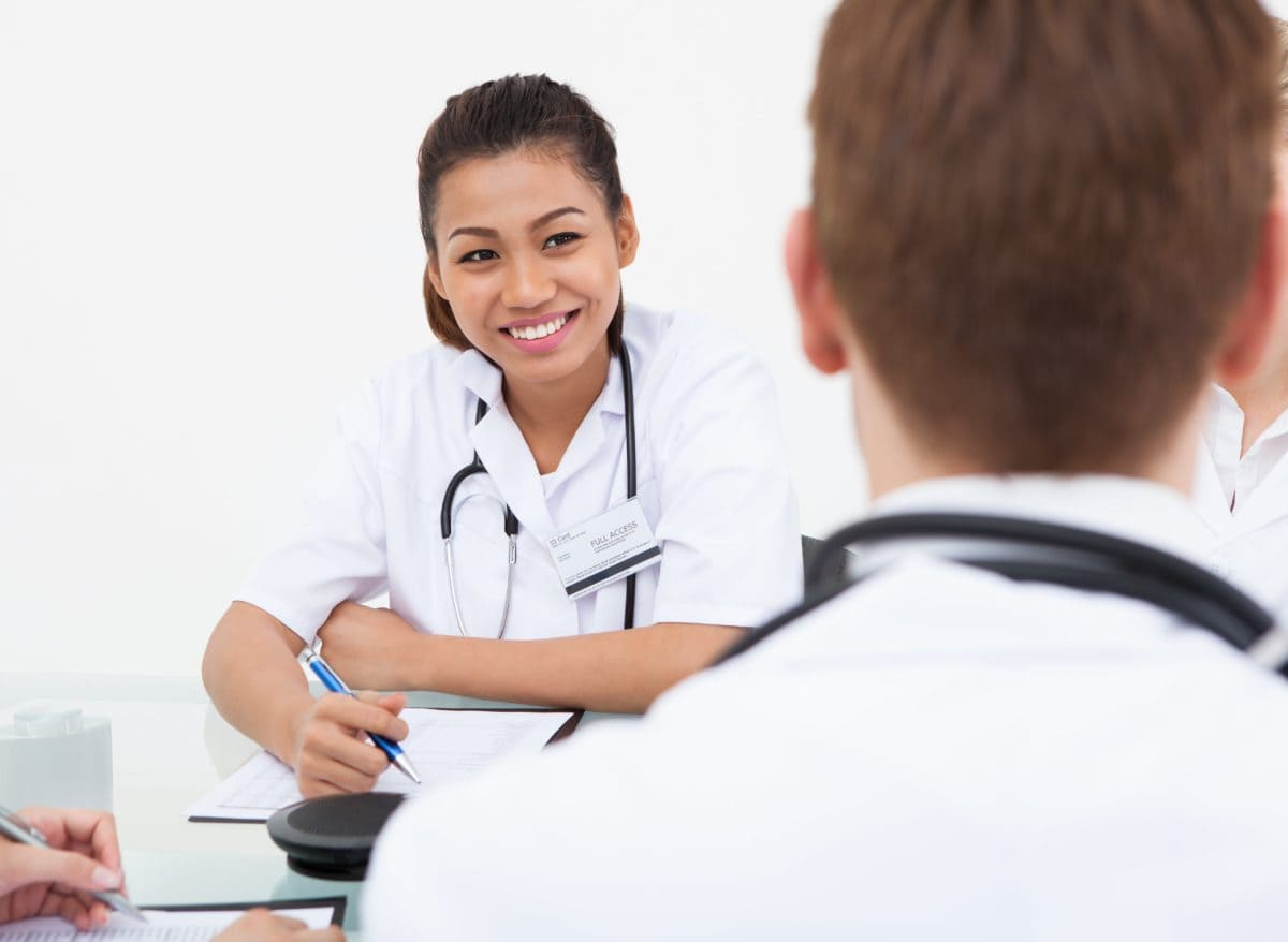 Healthcare job interview tips
