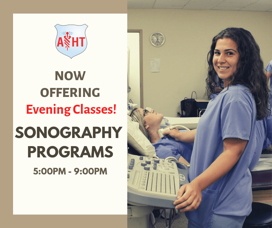 Evening Ultrasound Technician Classes Start February 2020