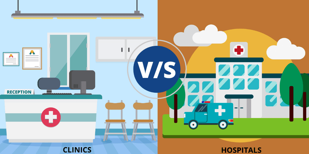 Clinic Vs Hospital: Which one has the better working environment?